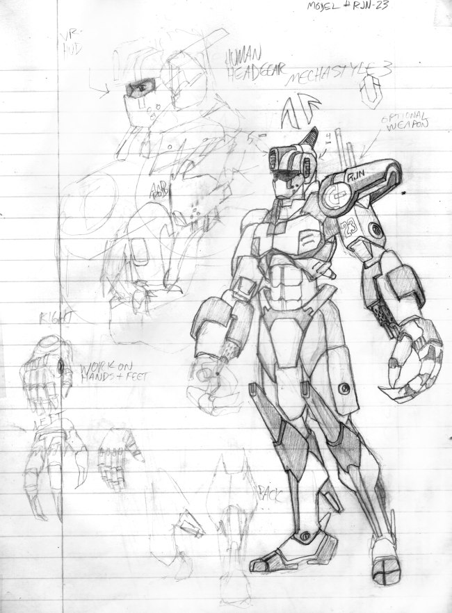 650x882 Ridoku Humanoid Robot Suite Sketch By Wynterstouch