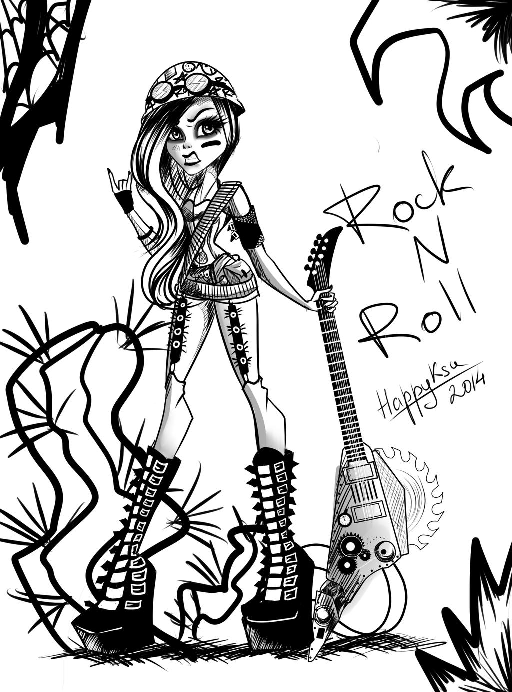 1024x1385 Rock N Roll By Happyksu