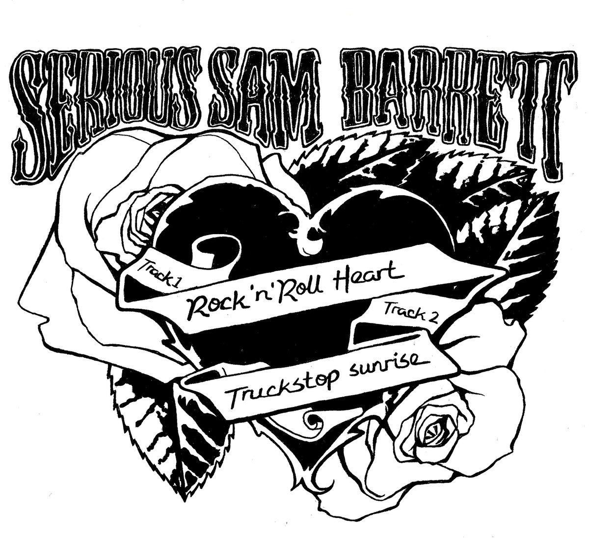 1200x1096 Rock N' Roll Heart Serious Sam Barrett (Yadig Records)