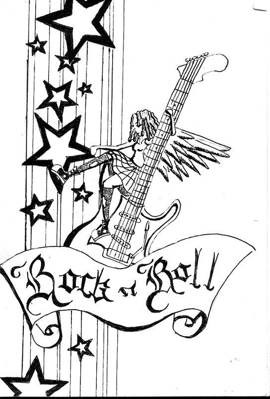 544x803 Rock N Roll By Superchicken