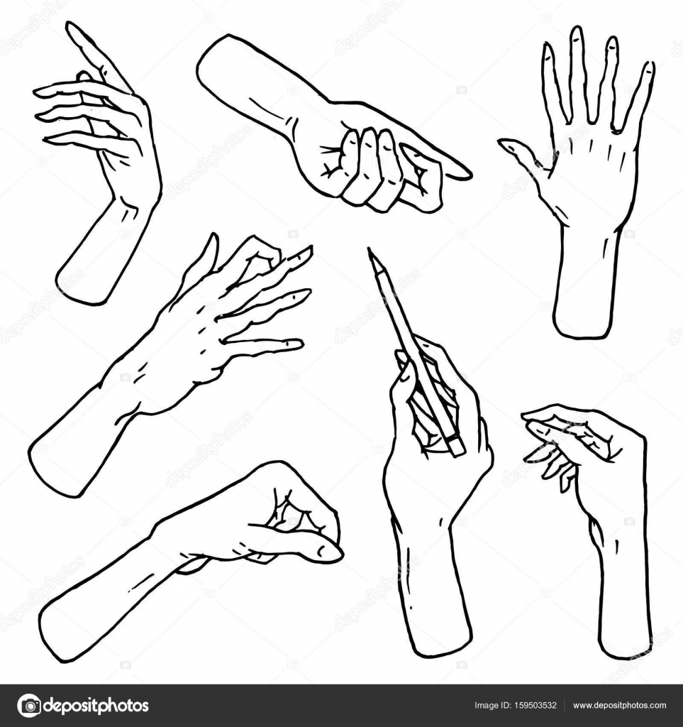 963x1024 Gestures Arms Stop, Palm, Thumbs Up, Finger Pointer, Ok, Like