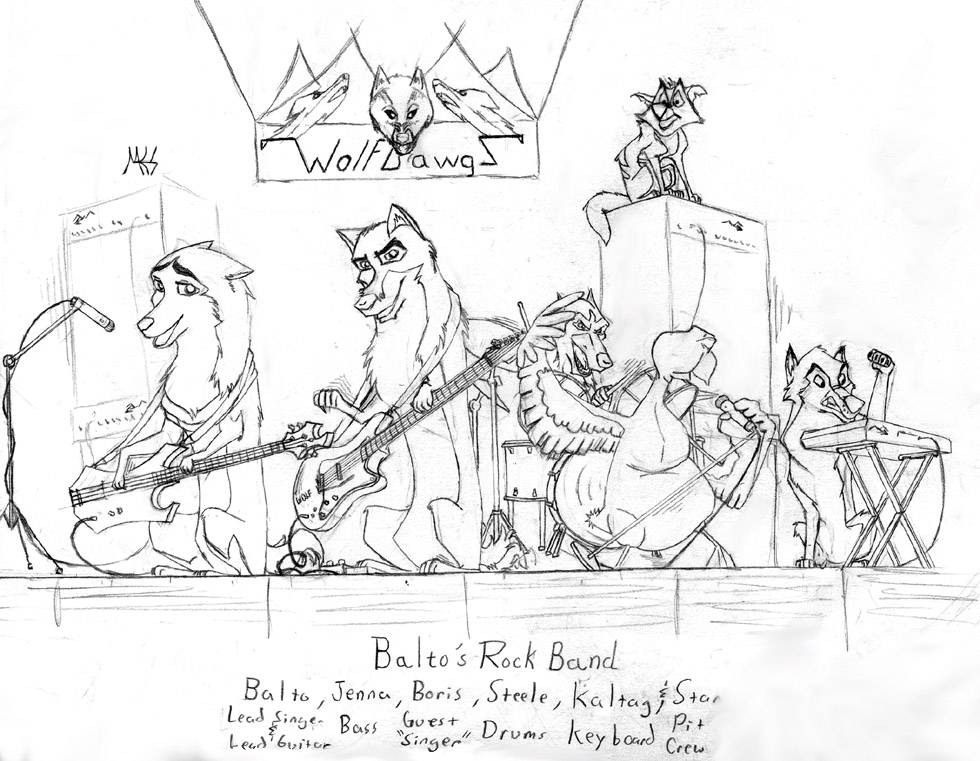 980x761 Balto Rock Band By Dragonwolface