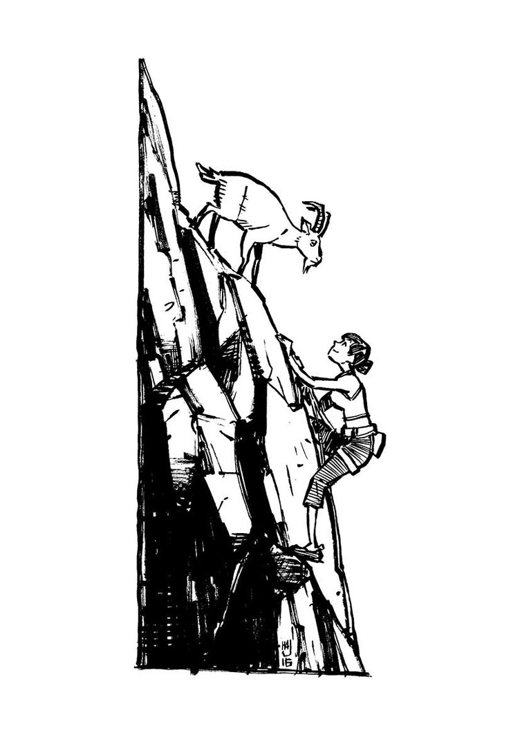 752x1063 Rock Climbing By Ha Jaladara