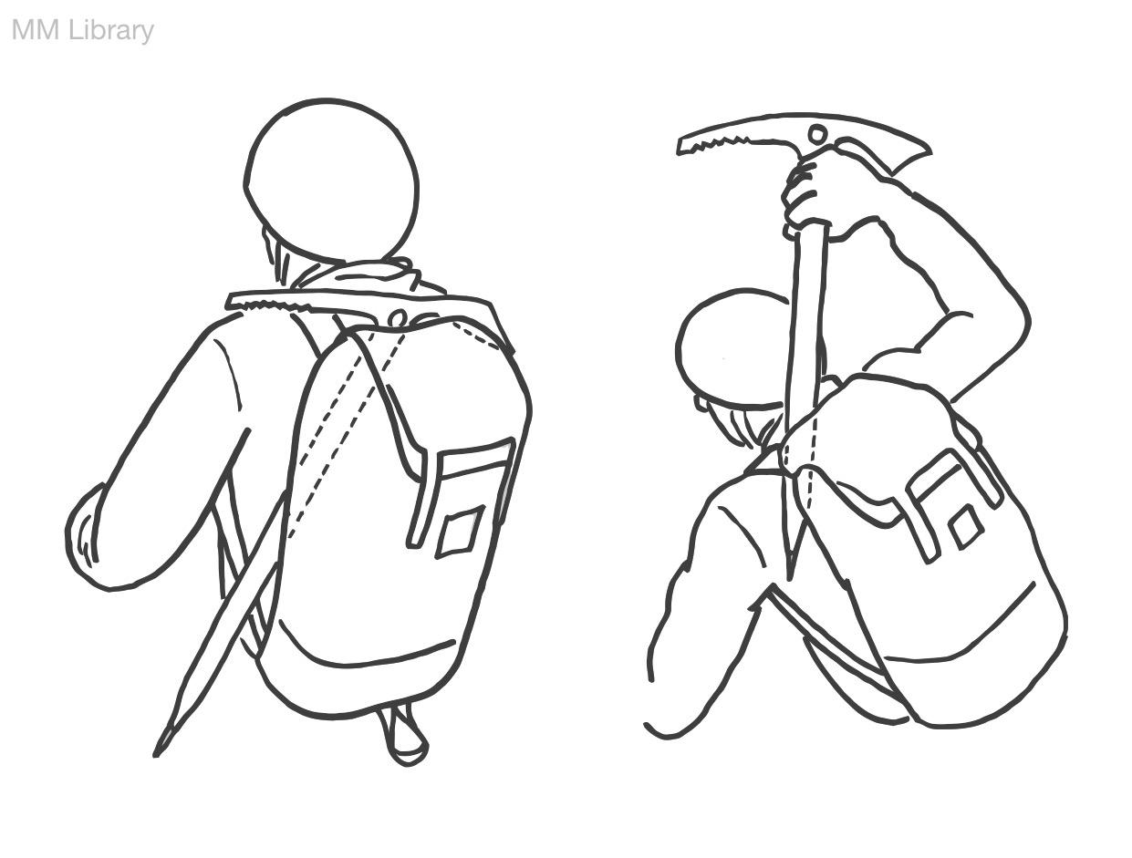 1241x941 Carrying An Ice Axe Tips Rock Climbing Instructor