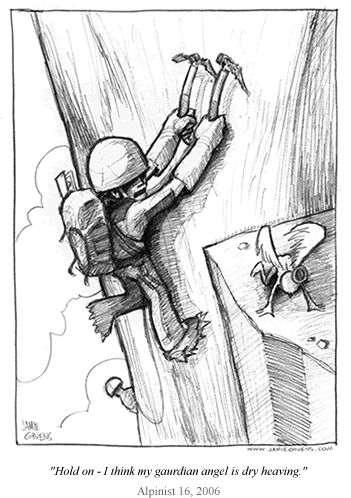 351x498 Climbing, Cartoon And Climbing Wall On Land