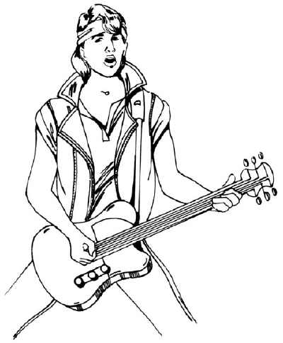 400x484 How To Draw People Rock Star Howstuffworks