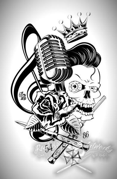 394x600 25 Best Rock N Roll Images On Rock N Roll, Psychobilly