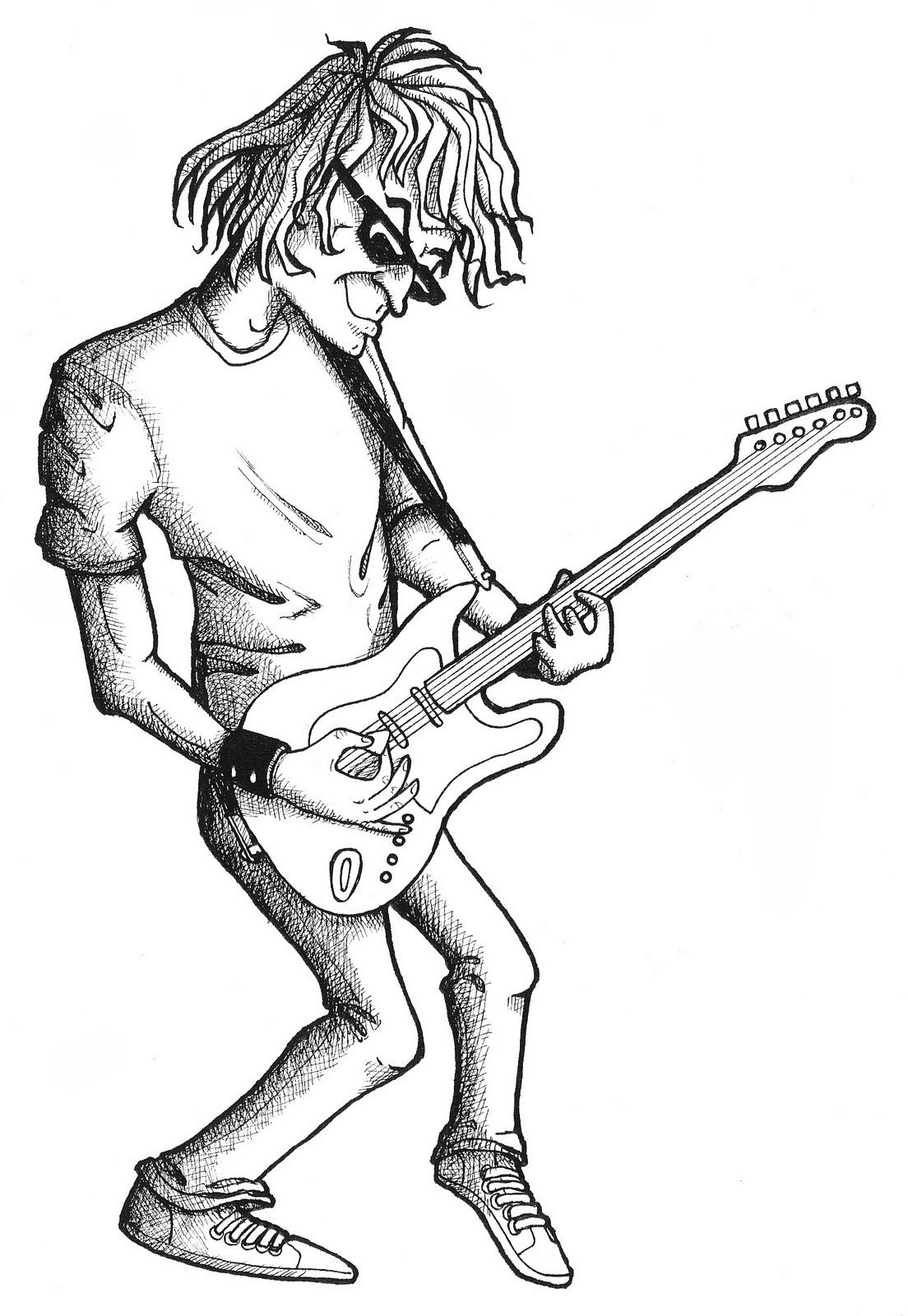 1104x1600 Organized Doodles You Wanna Be A Rock Star