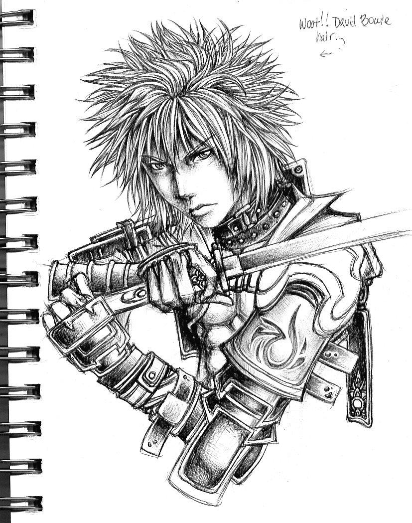 827x1049 Samurai Rockstar By Kiri Chan