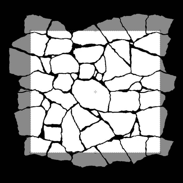 Rock Texture Drawing