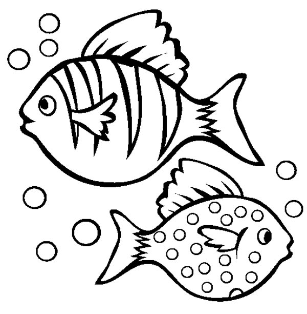600x612 12 Pics Of Fish Bubbles Coloring Pages