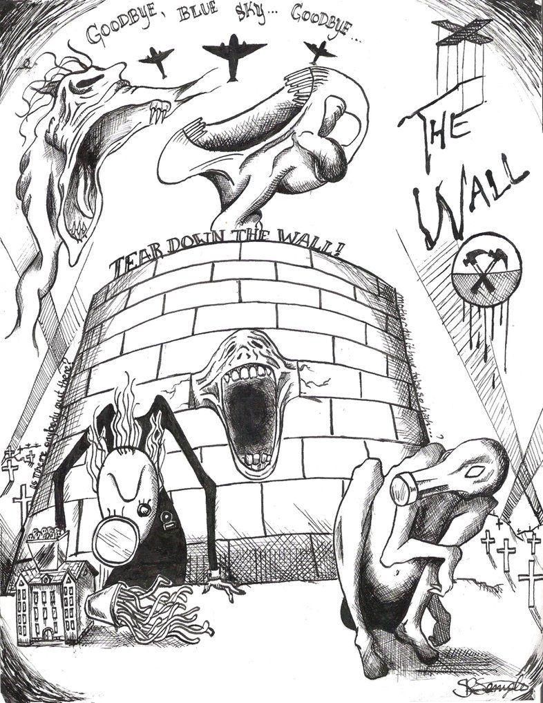 786x1017 Pink Floyd The Wall By Electricsorbet Nsf Pink Floyd