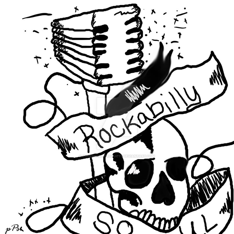 894x894 Rockabilly Soul By Paperdoll Products