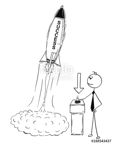 395x500 Cartoon Stick Man Drawing Conceptual Illustration Of Businessman