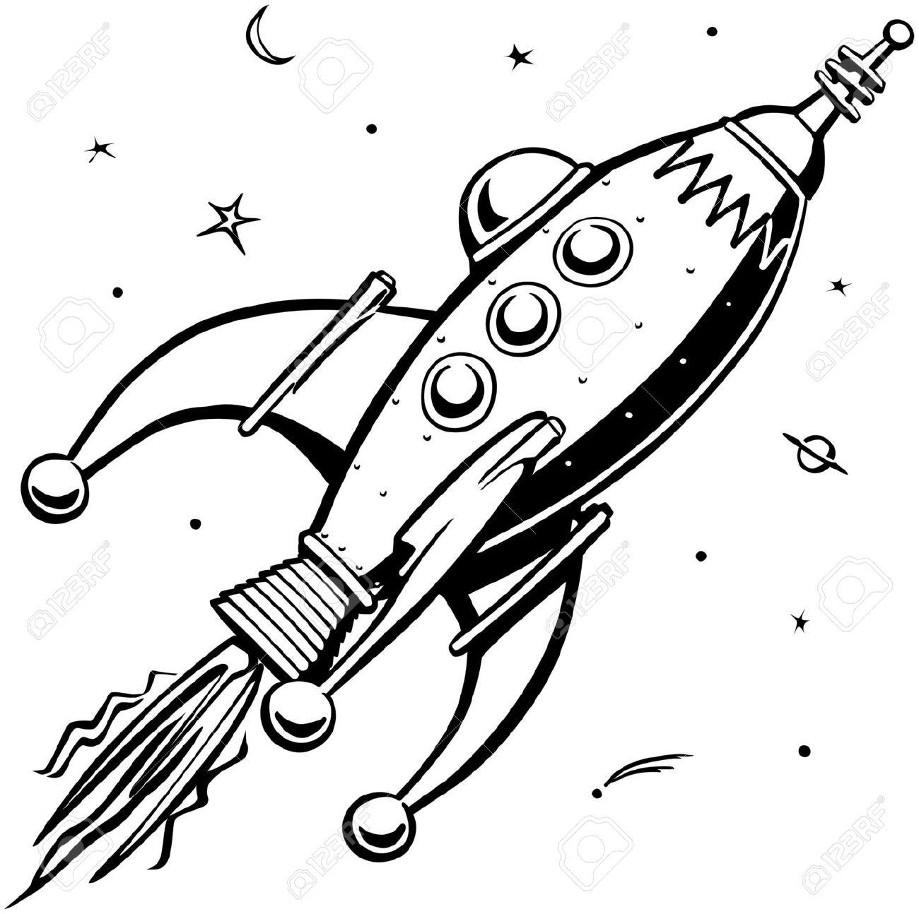 1300x1294 Drawing Rocket Ship Rocket Ship Drawing Easy