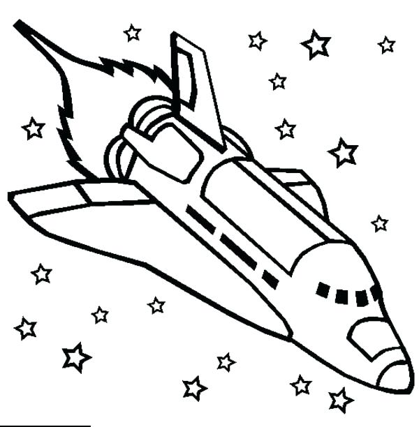 600x612 New Rocket Ship Coloring Page Print Printable Pages For Kids