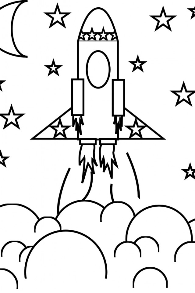 Rocket Drawing For Kids at GetDrawings.com | Free for personal use ...