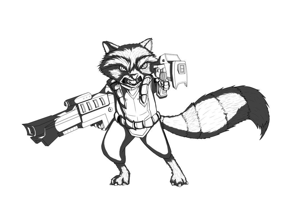 1024x754 Rocket Raccoon