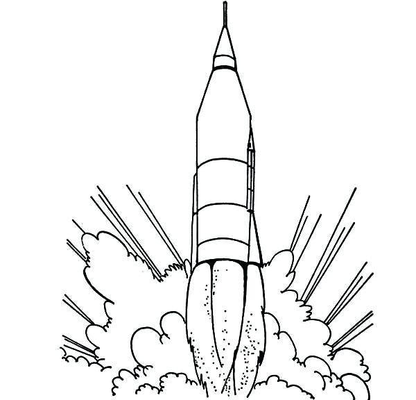 600x576 Rocketship Coloring Page Rocket Ship Coloring Page Free Pages