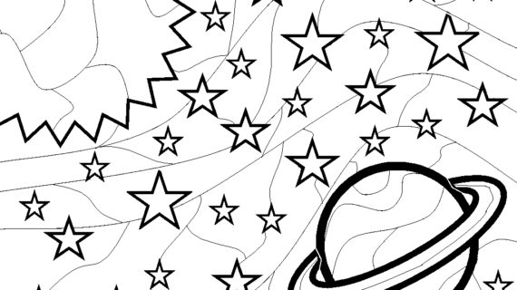 570x320 Space Drawing For Kids Creativity Learning Rocket Ship Space Kids