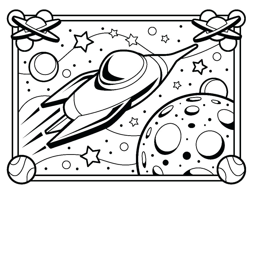 1024x1024 Coloring Rocketship Coloring Page Best Rocket Ship Image