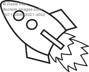300x243 Rocket Ship Clip Art Clipart Amp Stock Photography Acclaim Images