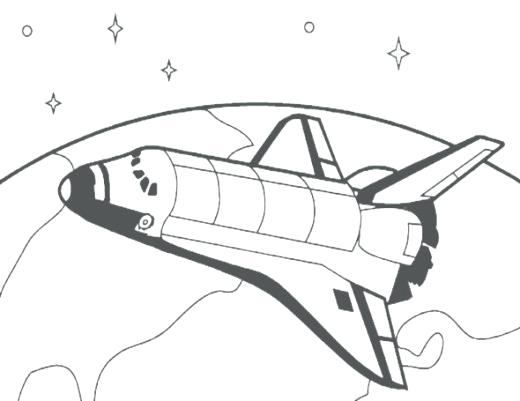 520x401 Rocket Coloring Sheets Rocket Coloring Sheets Medium Size