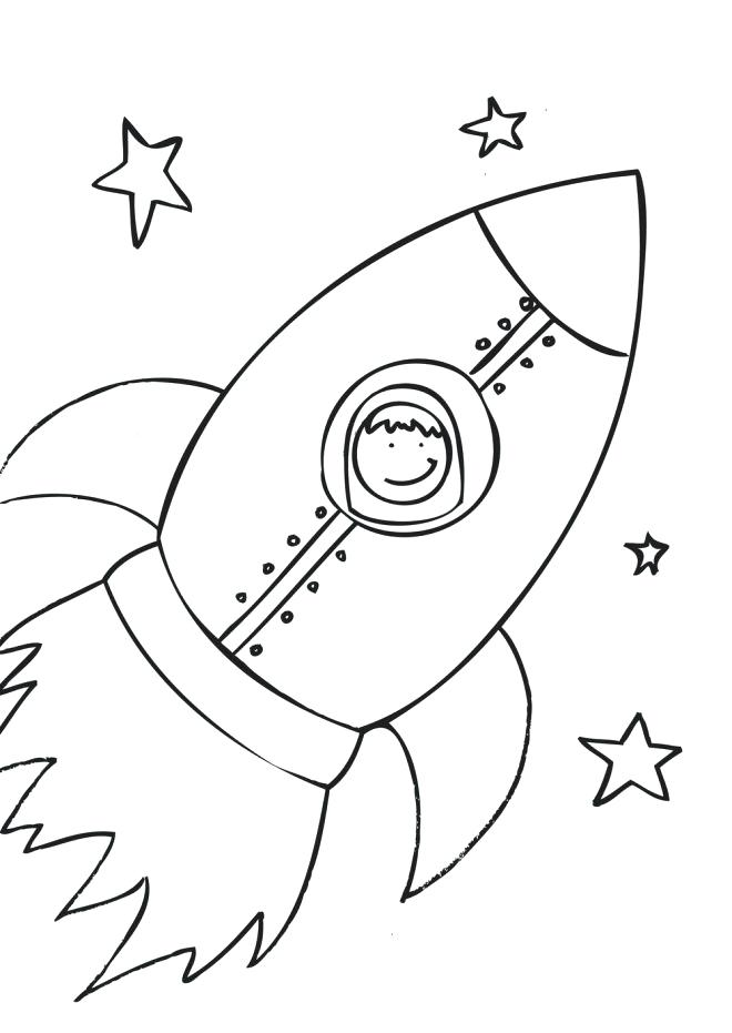 660x931 Rocket Ship Coloring Page Free Pages 3 Best Coloring Disney Book