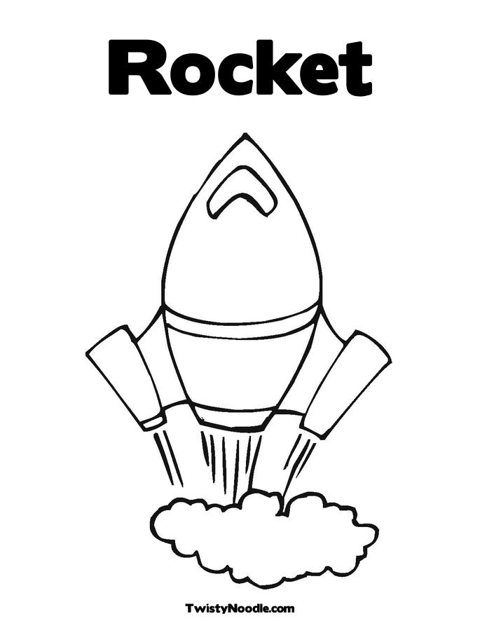 685x886 Rocket Ship Coloring Page