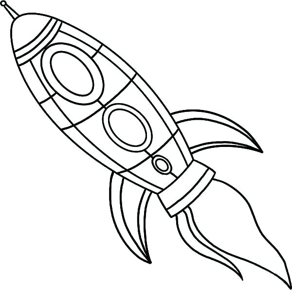 600x596 Rocket Ship Coloring Pages As Well As Free Printable Rocket Ship