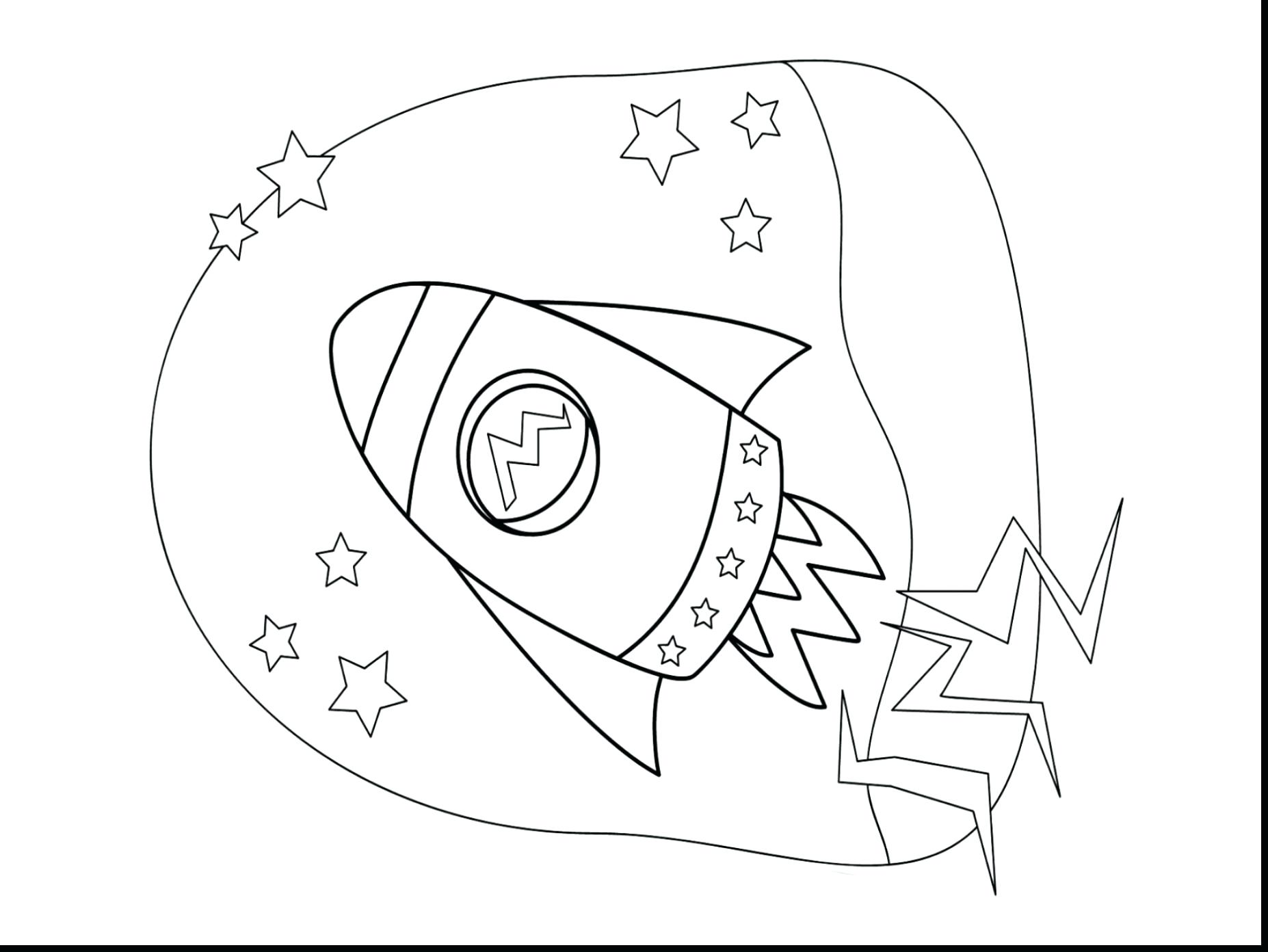 1854x1392 Coloring Rocket Ship Coloring Page