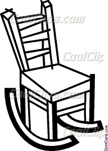 215x300 Rocking Chairs Vector Clip Art