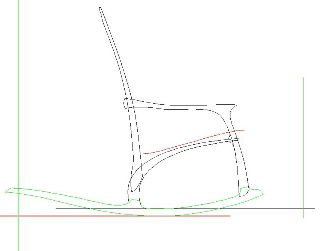 669x504 Rocking Chair Fillingham Art Furniture Design