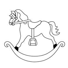 Rocking Horse Drawing