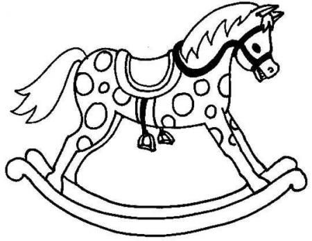 450x347 A Traditional Rocking Horse. 9 Steps