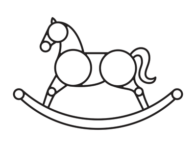400x300 Rocking Horse By Brody Vercher