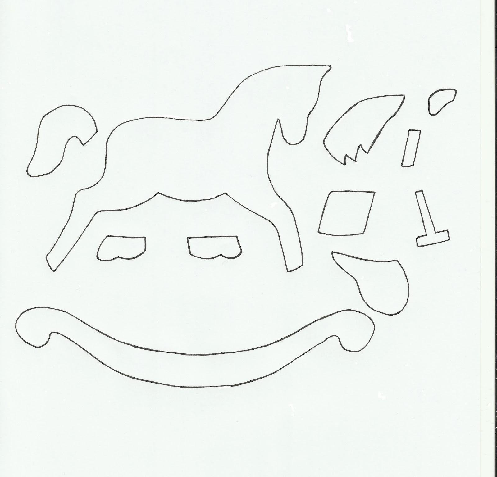 1600x1536 Christmas Rocking Horse