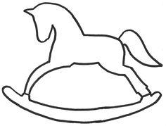 236x179 Vintage Rocking Horse Baby Shower Invitation Horse Baby Shower