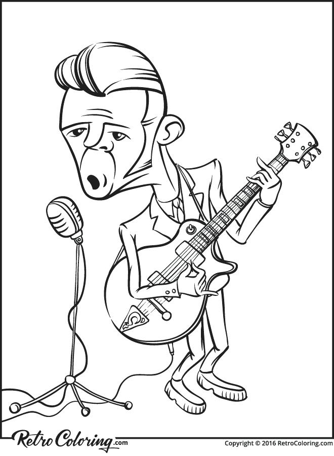 660x900 Rock Coloring Pages The Rock Star In Moxie Coloring Pages Kiss