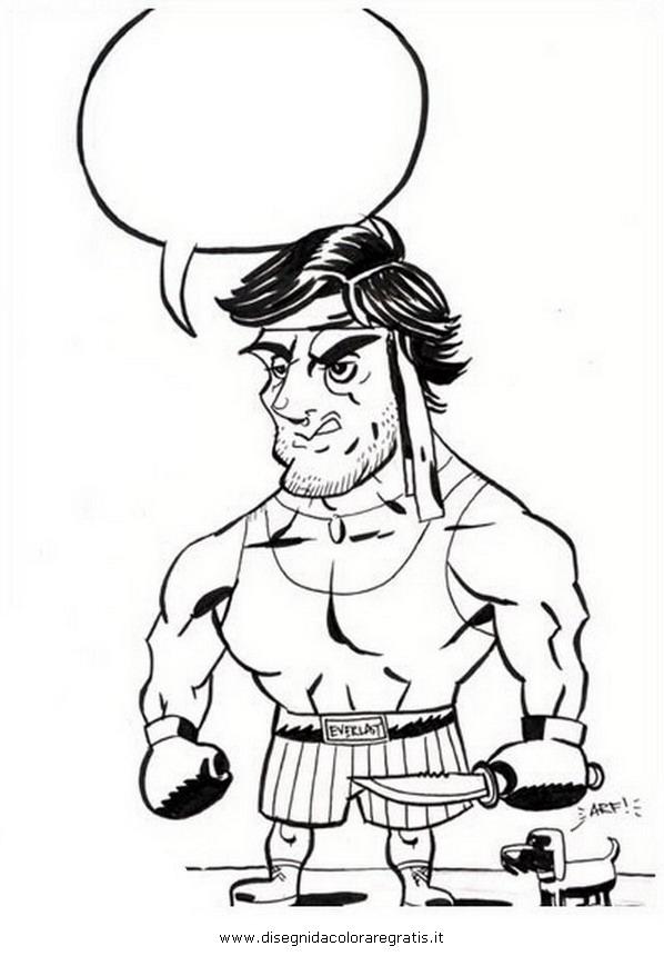 Rocky Balboa Drawing at GetDrawings   Free download