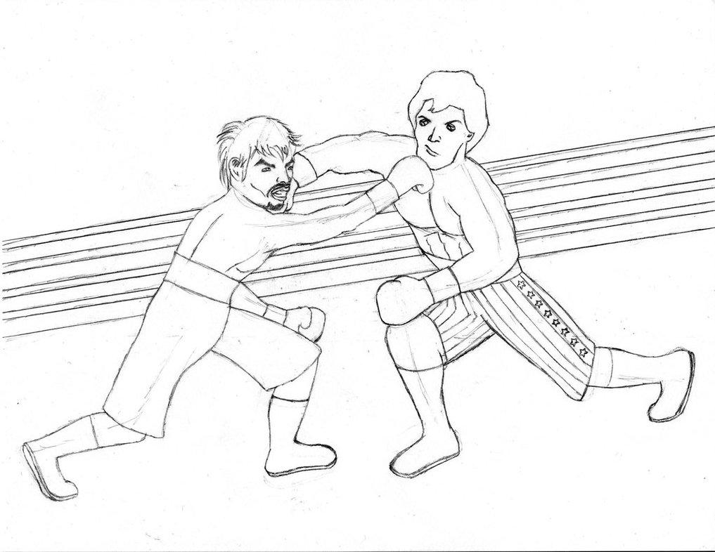 1017x786 Manny Pacquiao Vs. Rocky Balboa Wip By Jojorozian