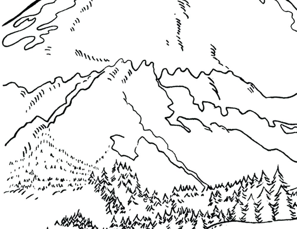 Rocky Mountains Drawing at GetDrawings.com | Free for personal use ...