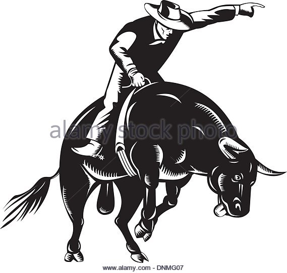 569x540 Bucking Stock Vector Images