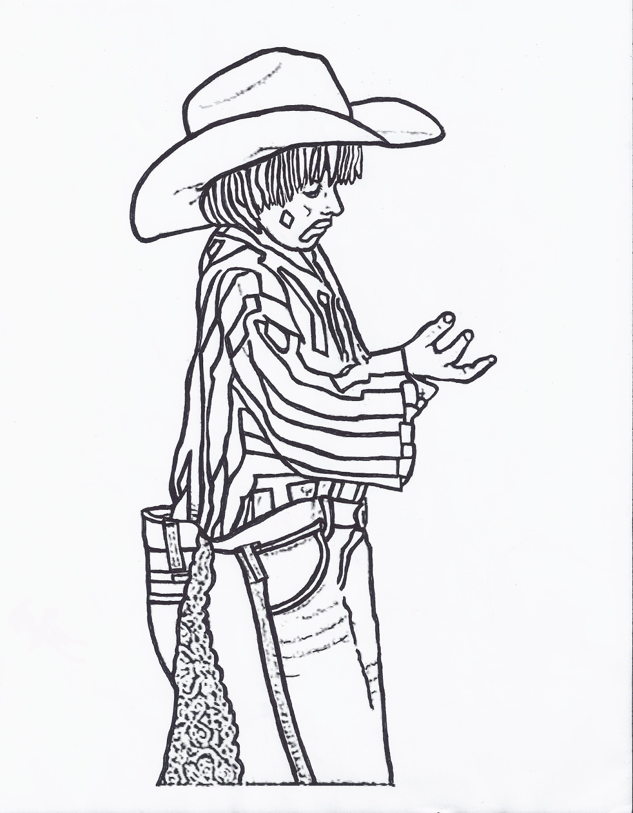 Rodeo Drawing at GetDrawings.com | Free for personal use Rodeo ...