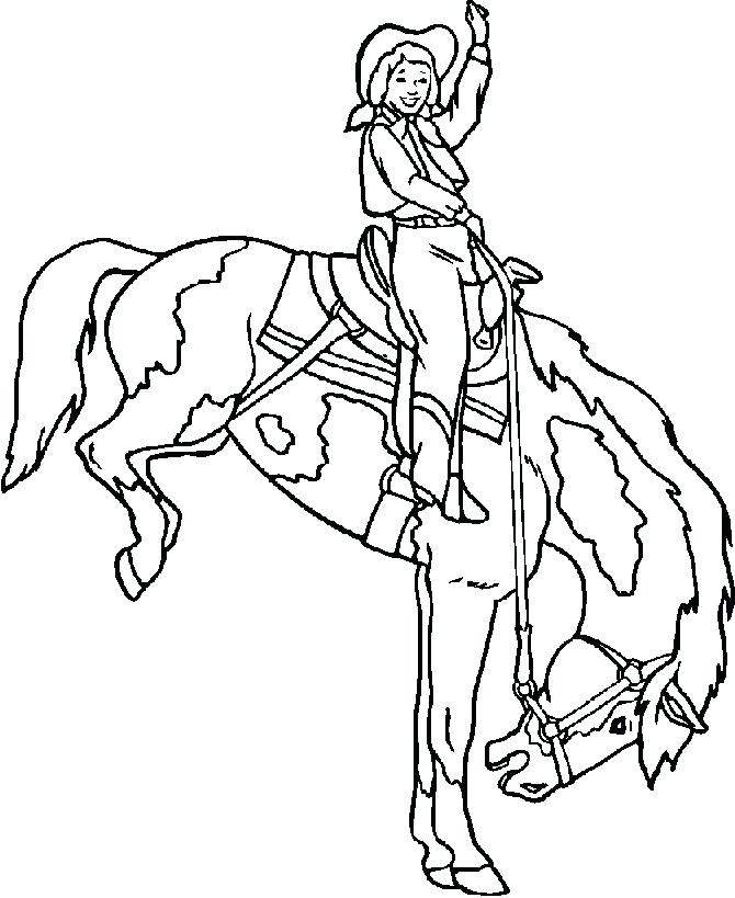670x819 Rodeo Coloring Pages Plus Bull Riding Coloring Pages Free