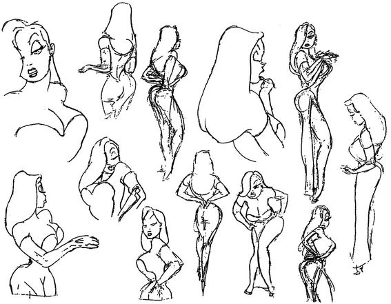 567x441 Jessica Rabbit Disney Animation Jessica Rabbit