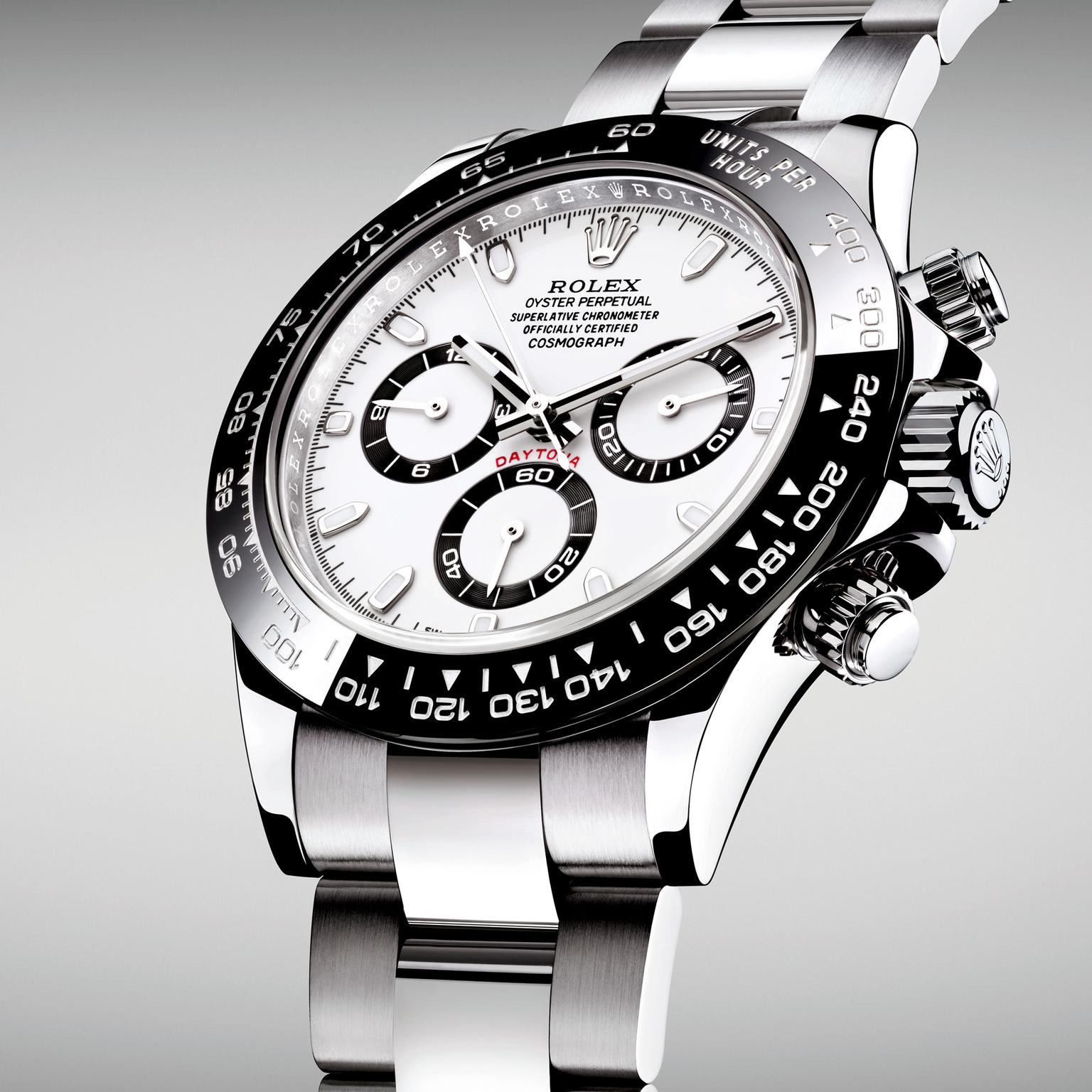 1536x1536 Cosmograph Daytona Watch In Stainless Steel Rolex