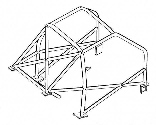 623x500 Porsche 968 Sunroof Weld In Roll Cage Safety Devices Experts