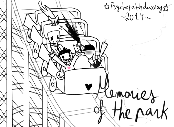 594x434 Off Let's Ride The Roller Coaster! By Saisuta