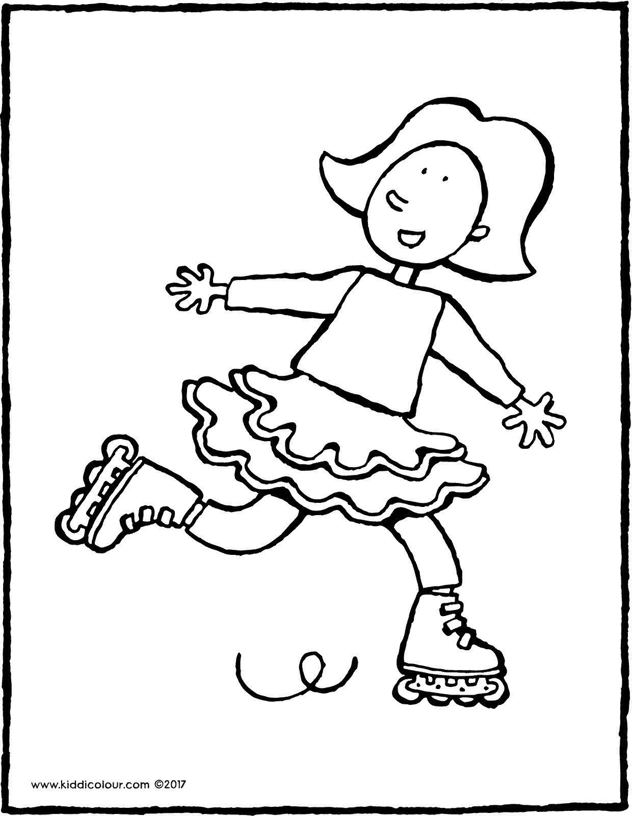 1240x1600 Emma On Rollerskates